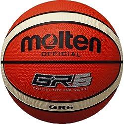 molten balón de baloncesto, Orange/Ivory, 6, BGR6-OI