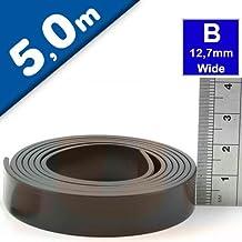 Magnetband Selbstklebend 1m x 12mm Extra Stark