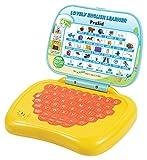 #6: Prasid Lovely English Learner Kids Laptop, Lemon/Orange