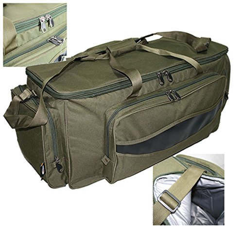 NGT Jumbo Large Holdall Carryall Bag Green 909-L Airsoft Camping Kit Bag -