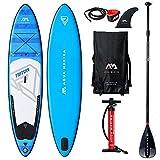 AQUA-MARINA Aquamarina Sup Triton Stand up, Paddle, Planche, Surf, Board Adulte Unisexe, Bleu, 3408115