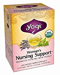 YOGI TEA,WOMANS NURSNG SUPPORT, 16 BAG