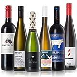 GEILE WEINE Weinpaket WEIHNACHTEN Klein (6 x 0,75l) Bester Rotwein und Weißwein und Prickelndes zu Weihnachten