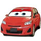 MFEIR Disney Car Red Auto Sonnenblende Sonnenschutz Frontscheibe Blendschutz Windschutzscheibe Schattenspender Autozubehör im Sommer