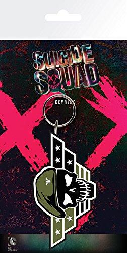 GB Eye LTD, Suicide Squad, Rick Flag Skull, Portachiavi