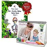 Geschenkset - Kinderbuch mit Premium Tischkalender/Kalender 2019 · DIN A5 · Bastelzauber weiß · Kalender zum Selbstgestalten · Bastelkalender · Malkalender · Edition Seelenzauber