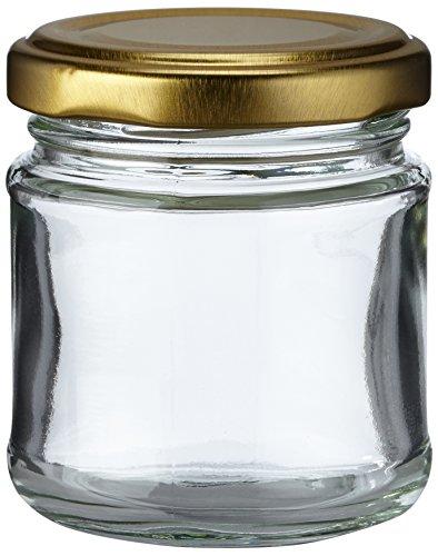 Nutley'spetits bocaux à confiture en verre 100ml pot confiture (Lot de 12)