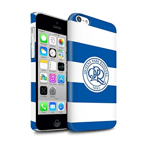 Officiel Queens Park Rangers FC Coque / Clipser Brillant Etui pour Apple iPhone X/10 / Bleu Royal Design / QPR Crête Club Football Collection Bleu Royal