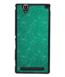 PrintVisa Designer Back Case Cover for Sony Xperia T2 Ultra :: Sony Xperia T2 Ultra Dual SIM D5322 :: Sony Xperia T2 Ultra XM50h (Jaipur Rajasthan Tribal Azitec Mobiles Indian Traditional Wooden)