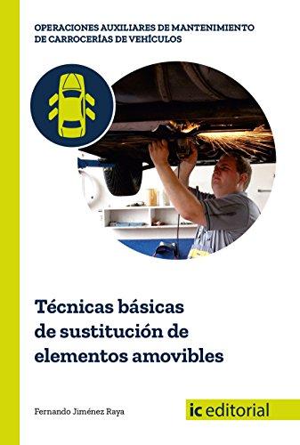 Técnicas básicas de sustitución de elementos amovibles por Fernando Jiménez Raya