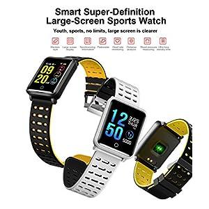 TagoBee TB06 IP68 a Prueba de Agua Smart Watch HD Touch Screen Fitness Tracker Soporte de presión Arterial frecuencia… 9