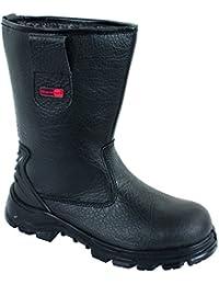 Blackrock SF01B Fur Lined Safety Rigger Boot (Black) S1-P SRC
