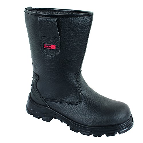 Blackrock SF01B Fur Lined Safety Rigger Boot (Black) S1-P SRC