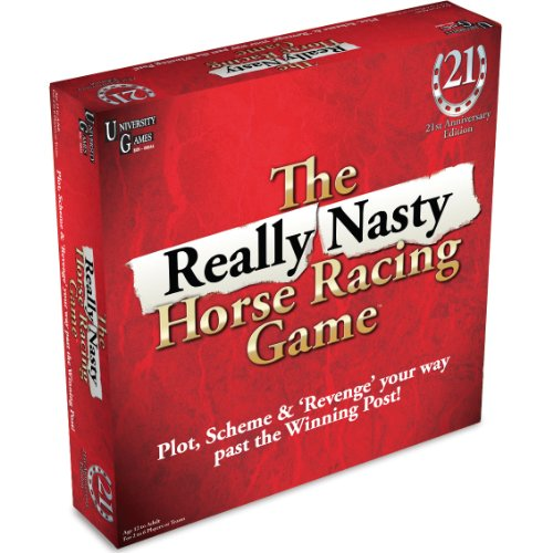 THE REALLY NASTY HORSE RACING BOARD GAME - BRETTSPIEL AUF ENGLISCH (Racing Board Game)