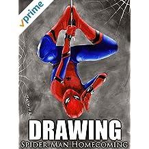 Clip: Drawing Spider-Man Homecoming