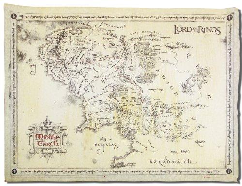 Herr-der-Ringe-Karte-von-Mittelerde-Poster-Plakat-Pergament-Karte-echtes-Pergamentpapier
