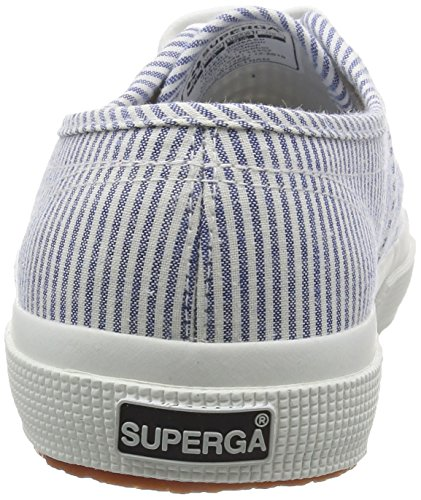 Superga  2750 Cotu Shirt, Sneakers Basses Unisexe adulte Bleu - Blue (Blue Stripes)