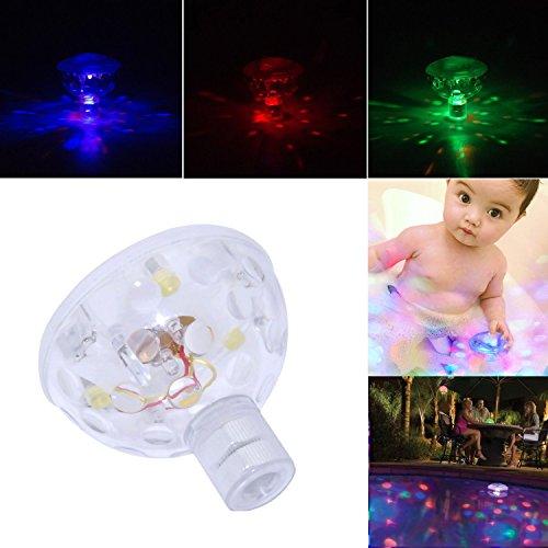 Preisvergleich Produktbild K-Bright Unterwasser -Schwimm LED-Swimmingpool-Licht mit 5 verschiedenen Lichtfarbe Partei Hot Hub-Disco-Kugel-Licht wasserdichtes