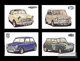 Mini Cooper, Postkarten-Mk1 MK2 MK3 997cc S 998cc 1275S Cooper Auto Co