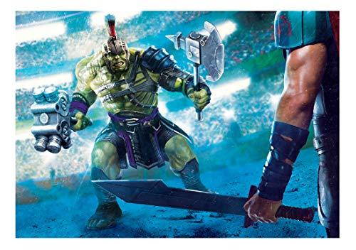 or 3 Hulk Artwork Vlies Vliestapete Tapete No. 11686 (312 x 219cm - 3-teilig) ()