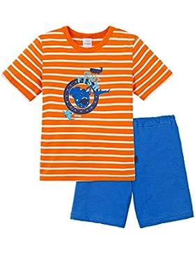Schiesser Jungen Zweiteiliger Schlafanzug Kn Schlafanzug Kurz