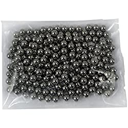 500unidades, bolas de acero, 8mm, BBS, para tirachinas, honda, catapulta