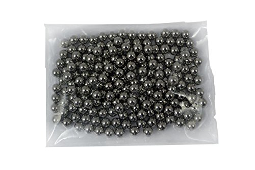 Sector 71 Hochwertige Carbon Stahlkugeln 8mm für Schleudern, Zwillen, Katapult und Kugellager verschiedene Mengen (100 Stück)