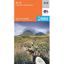 Skye - Portree and Bracadale 1 : 25 000 (OS Explorer Active Map)