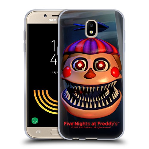Official Five Nights At Freddy's Nightmare Balloon Boy Game 4 Soft Gel Case for Samsung Galaxy J5 (2017)
