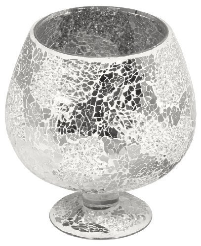 Mosaic Glass Goblet - Mirrored (Small)