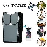 Hangang GPS Tracker für Fahrzeuge, GT001 Echtzeit Magnetic Small GPS Tracking Device Locator für Auto Motorrad Truck Kids Teens Old