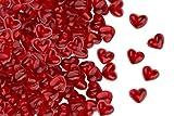 Fruchtsaft Herzen, Himbeere, zum Valentinstag oder Muttertag, Fruchtgummi in Herzen-Form, im 500g Beutel