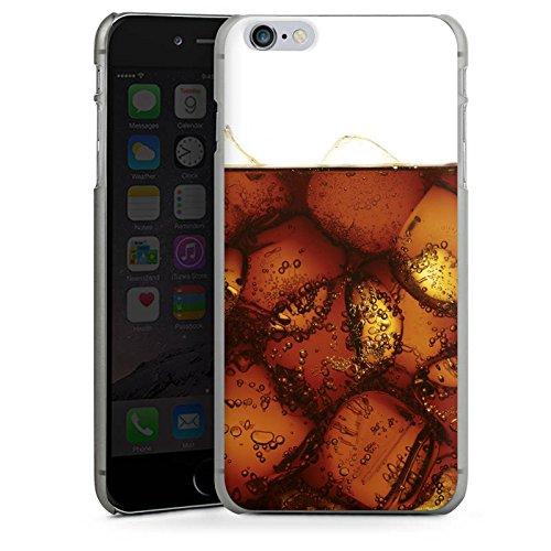 Apple iPhone X Silikon Hülle Case Schutzhülle Cola Getränk Eiswürfel Hard Case anthrazit-klar