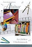 Glückwunschkarte zum bestandenen Abitur mit Zirkel Büchern Stiften 63-1096