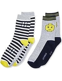 Lego Wear Lego Boy Ayan 201-2-Pack Socks, Chaussettes Garçon, (lot de 2)