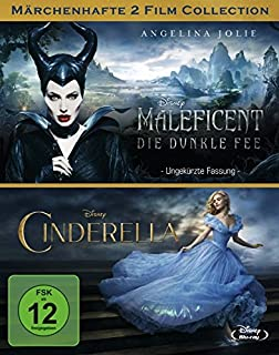 Maleficent - Die dunkle Fee / Cinderella [Blu-ray]