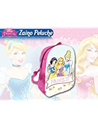 Sac à Dos en Peluche 3D Princesses 31 cm
