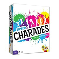 Charades Party Game - Speed Charades Board Game - Fast-paced Family Games - Perfect for Groups and Game Nights
