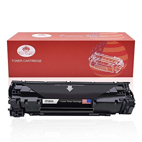 Toner Kingdom Compatible HP 83A CF283A Cartucho de tóner para uso en HP Laserjet Pro MFP M125a M125nw M125rnw M126a M126nw M127fn M127fp M127fw M128fn M128fp M128fw M201dw M201n M202dw M202n M225dn