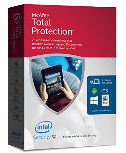 McAfee Total Protection 2016 unlimited - für ei...