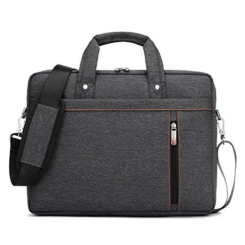 Nlyefa Laptoptasche Notebooktasche 13-17 Zoll, Laptop Tablet Schultertasche 360 stoßfest Umhängetasche Computer Bag Tasche wasserdicht mit Schultergurt für Schule Studium Reisen und Büro