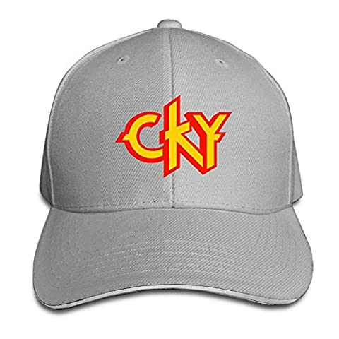 CKY Heavy Metal Band Logo Bam Margera Men's Sandwich Baseball Caps