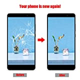Prezzo Riuty Set di Sostituzione Schermo LCD Touch, Schermo LCD e digitalizzatore Assemblaggio Completo per Huawei Honor 9i (Nero)