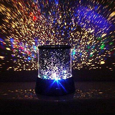ZJ créatif couleur de l'éblouissement conduit de la deuxième génération projecteur d'étoiles cadeau romantique , 3