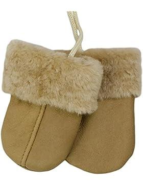 SamWo, Babyhandschuhe aus echtem Lammfell, kuschelig warmes Naturprodukt, für Kinder von 0 - 1 1/2 Jahren, Farbe...