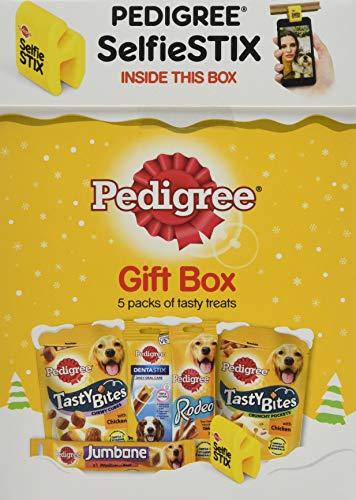 Pedigree Christmas Dog Treats, Xmas Gift Box DVariety Pack, 3 Boxes (3 x 472 g)