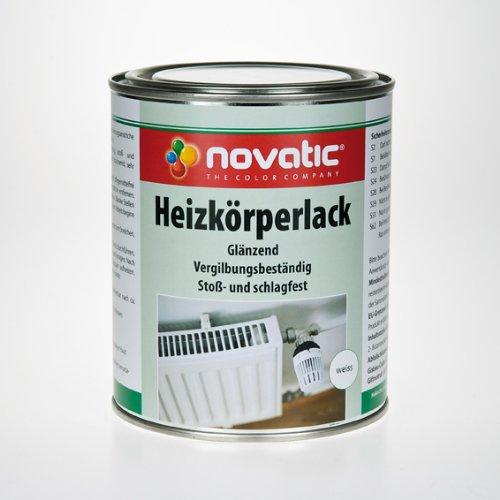 novatic HEIZKÖRPERLACK 2,5 l weiss