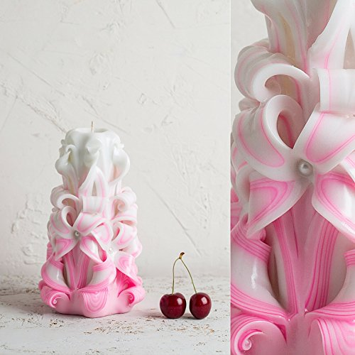 medium-white-and-pink-gentle-colors-wedding-decorative-carved-candle-evecandles