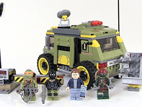 Review: Lego Turtle Van Takedown (Ninja Turtle Vans)