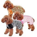 osmanthusFrag Welpenhunde-Hunde-Korall-Fleece Coat Jacat Pet Pet Clothes Herbst Winter-Brown S